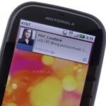 Motorola is offering an Android 2.2 pre-release update to select Motorola Bravo owners