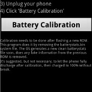 Calibrate the battery stats on your Android device with a simple app