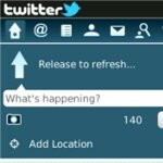 Software update to v1.1 brings geotagging feature to Twitter for BlackBerry