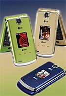 Alltel launches glossy colorful LG AX8600
