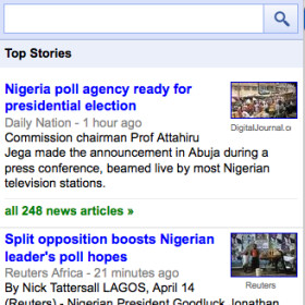 Google News updated for Opera Mini