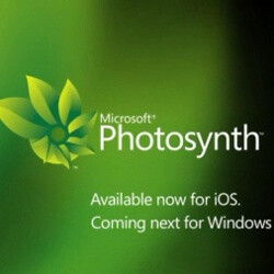 Microsoft releases Photosynth app for iOS only, WP7 not yet mature enough