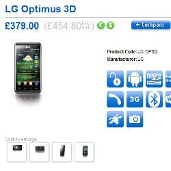 Clove UK to offer the LG Optimus 3D starting on June 6 for $750