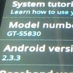 Pre-release Gingerbread ROM for the Samsung Galaxy Ace is leaked