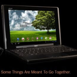 The Asus Eee Pad Transformer is already in short supply