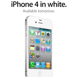 White iPhone 4 finally official, available tomorrow on Verizon and AT&T