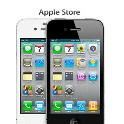 White iPhone 4 now available in Apple Stores