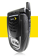 Sprint PCS launches protected Sanyo 7050