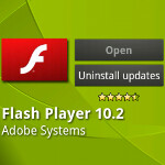 Adobe Flash Player 10.2 will support 'hardware accelerated video' in Android 3.1