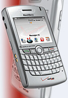 Verizon Wireless gets RIM BlackBerry 8830 Cyclone CDMA/GSM hybrid world-phone