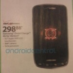 Costco says Samsung DROID Charge will not launch today; Walmart leaks its price