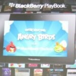 The BlackBerry PlayBook will soon get its fill of Angry Birds