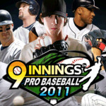 Manage your favorite MLB  players on your Android phone with 9 innings: Pro Baseball 2011