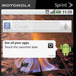 Sprint gets a pair of Motorola Android devices, the XPRT and the Titanium
