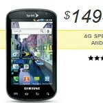 Sprint shaves off another $50 off the Samsung Epic 4G - now priced at $150
