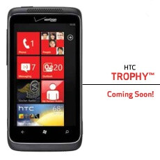 HTC Trophy dummy put on display at a Best Buy store, hints at inevitable release