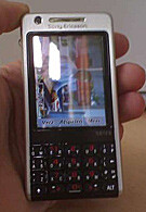 Spy photos of Sony Ericsson P700
