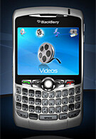 BlackBerry Curve 8300 combines the Pearl and the 8800