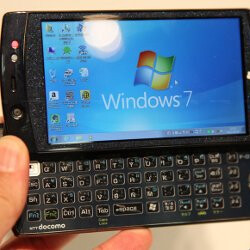 Fujitsu LOOX F-07C is the first phone with Intel Atom, to dual-boot Windows 7 and Symbian