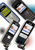 Nokia adds 4 entry level candybars
