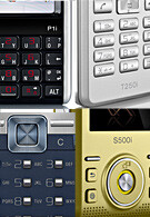 Sony Ericsson P1, S500, T650 and T250