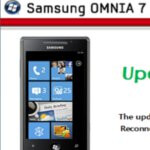 Software patch available to Samsung Omnia 7 units unable to install prior security build