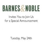 NOOK Color 3G might be announced at a Barnes & Noble event on May 24