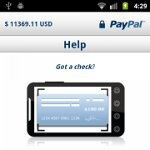 PayPal's Android app is finally gaining check depositing feature