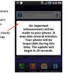Samsung Galaxy Indulge gets FOTA update pushed by MetroPCS