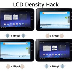 Pixel density hack changes your Honeycomb tablet interface to Gingerbread