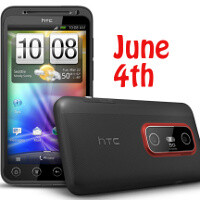 HTC EVO 3D release date expected to be June 4th