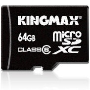 KINGMAX introduces world's first 64GB microSD card