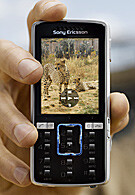 Sony Ericsson K850 - 5-megapixel cameraphone with world 3G