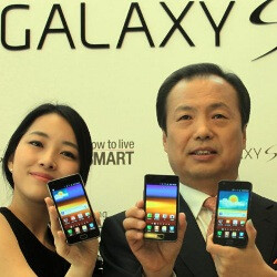 Samsung Galaxy S II sales over 1 million in Korea