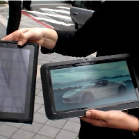 Pixel Qi demoes thin sunlight-visible display for tablets, smartphones might get one too