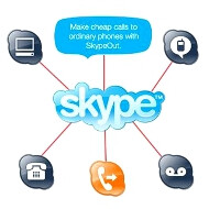 More people placing phone calls over the Internet, Microsoft's Skype acquisition to boost that trend