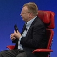 "Stephen Elop at D9: rumors about Microsoft acquiring Nokia are ""baseless,"" first Nokia WP coming end-2011"