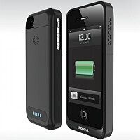 PhoneSuit battery case for the iPhone provides 2100mAh in a thin package