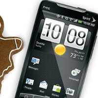 Sprint's HTC EVO 4G is getting 2.3 Gingerbread today