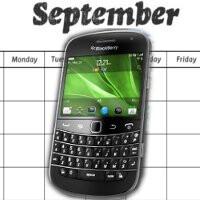 Global launch for the BlackBerry Bold 9900 is being pushed later to September?
