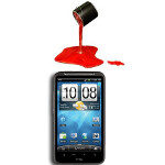 Inspired to be red? Radio Shack is now offering the HTC Inspire in red for $29.99 on contract