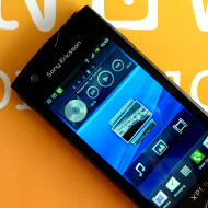 New eye candy of the Sony Ericsson ST18i Android phone, and a mystery WP7 handset leak
