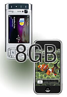 Nokia adds 8GB to N95, competes with iPhone?