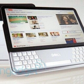 Dell prototype tablet spotted, featuring a slideout split-QWERTY keyboard
