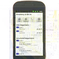 Google introduces Live Transit to mobile Maps