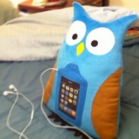 Do you sleep with your iPhone? Stick it in a stuffed owl!