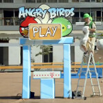 Angry Birds comes to life in Barcelona