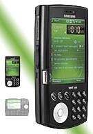 Samsung i760 WM6 phone on Verizon site