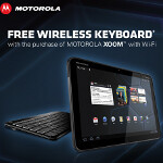 Motorola offering free 2 day shipping and wireless keyboard with purchase of Wi-Fi version of the XOOM