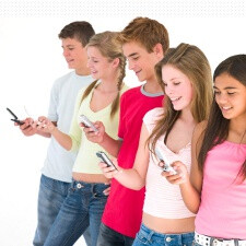 Nielsen says teens talk less, text more and watch the most videos